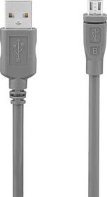 Micro-USB 2.0 Kabel 1.8m grau USB-Kabel Mio Star 798242900000 Bild Nr. 1