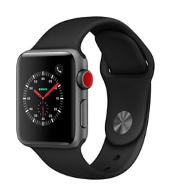 Watch Series 3 GPS/LTE 38mm spacegray/black