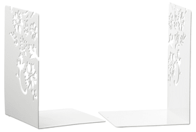 TREND FLOWER Serre-livres 440624900002 Couleur Blanc Dimensions L: 12.0 cm x P: 12.0 cm x H: 18.0 cm Photo no. 1