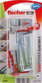 DUOPOWER 8 x 40 mit Winkelhaken Universaldübel fischer 605440600000 Bild Nr. 1