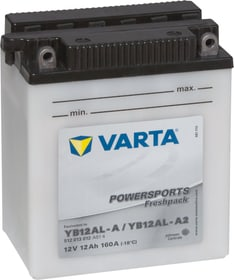 YB12AL-A / YB12AL-A2 12Ah Motorradbatterie Varta 620454000000 Bild Nr. 1