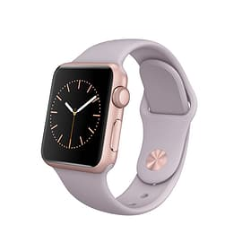 Watch Sport, 38mm Rose Gold Aluminium Case with Lavender Sport Band Apple 79788140000015 Photo n°. 1