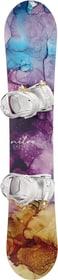 Lectra inkl. Rythm Damen-Snowboard inkl. Bindung Nitro 494553514245 Farbe violett Länge 142 Bild-Nr. 1