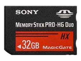 Memorystick MS PRO Duo High Grade HX 32GB