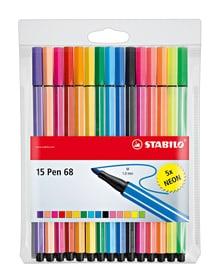 Feutre de couleur STABILO® pen 68, 15 couleurs Stabilo 665457200000 Photo no. 1
