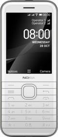 8000 4G Opal white Téléphone mobile Nokia 785300156845 Photo no. 1