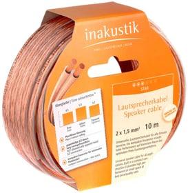 Anneaux de câble de haut-parleur Star 2x0.75mm² 6.0m câble du haut-parleur inakustik 785300143798 Photo no. 1