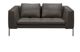 BADER 2er-Sofa 405686120384 Grösse B: 174.0 cm x T: 105.0 cm x H: 80.0 cm Farbe Anthrazit Bild Nr. 1