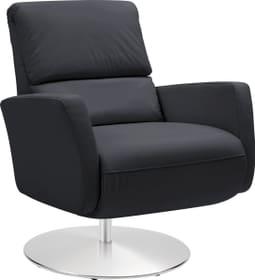 ARTHUR Relaxsessel 402476107020 Grösse B: 74.0 cm x T: 95.0 cm x H: 84.0 cm Farbe Schwarz Bild Nr. 1