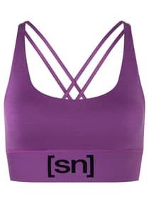 Super Top Brassière de sport super.natural 468064200545 Taille L Couleur violet Photo no. 1
