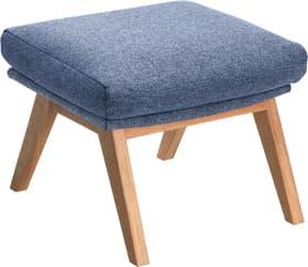 ANDRES Repose-pieds 402473508040 Dimensions L: 54.0 cm x P: 41.0 cm x H: 41.0 cm Couleur Bleu Photo no. 1