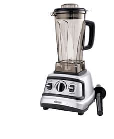 Power Blender argento