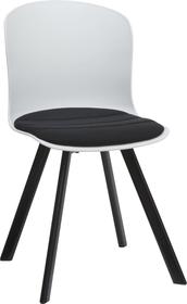 BRERA Chaise 402398000000 Dimensions L: 45.5 cm x P: 54.0 cm x H: 80.5 cm Couleur Noir Photo no. 1