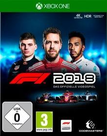 Xbox One - F1 2018 D Box 785300141472 Bild Nr. 1