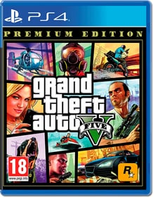 PS4 - GTA V Premium Edition F Box 785300148153 Langue Français Plate-forme Sony PlayStation 4 Photo no. 1