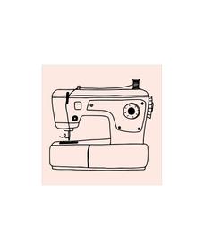 M&B Stempel, Nähmaschine 667727100000 Bild Nr. 1