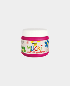MUCKI Stoff-Fingerfbarbe 150ml,Pink 665797700000 Bild Nr. 1