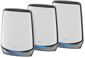 RBK853-100EUS Orbi WLAN 6 Tri-Band AX6000 Kit (1x Routeur, 2x Satellite) MESH Wifi Netgear 785300150433 Photo no. 1