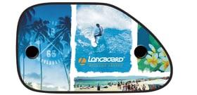 Longboard pare-soleil profil