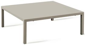 QUATRIS Table basse 408058000079 Dimensions L: 80.0 cm x P: 60.0 cm x H: 30.0 cm Couleur Boue Photo no. 1