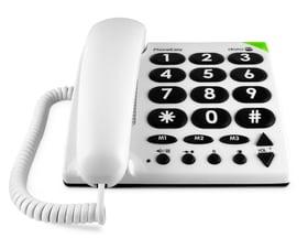 PhoneEasy 311c blanc Téléphone fixe Doro 785300124445 Photo no. 1