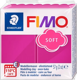 Fimo Soft  Block Himbeere Fimo 664509620022 Farbe Himbeere Bild Nr. 1