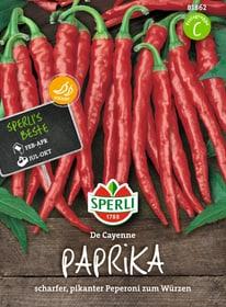 Paprika de Cayenne Semences de legumes Sperli 650152300000 Photo no. 1