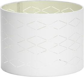 BLING 25 Paralume 25cm 420191802510 Dimensioni A: 18.0 cm x D: 25.0 cm Colore Bianco N. figura 1
