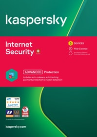 Internet Security (3 PC) [PC/Mac/Android] (D/F/I) Kaspersky 785300146382 N. figura 1