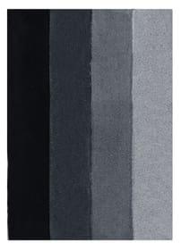 Badeteppich Four spirella 675028000000 Farbe Schwarz-Grau Grösse 60x90cm Bild Nr. 1