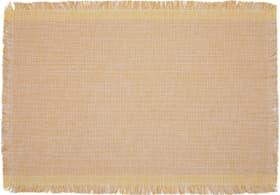 DAYANA Tischset 450533200050 Farbe Gelb Grösse B: 35.0 cm x T: 50.0 cm Bild Nr. 1