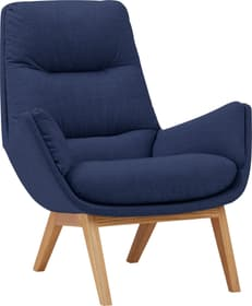 ANDRES Sessel 402443207043 Farbe Marine Grösse B: 83.0 cm x T: 94.0 cm x H: 97.0 cm Bild Nr. 1