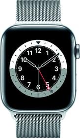 Watch Series 6 LTE 44mm Silver Stainless Steel Silver Milanese Loop Smartwatch Apple 785300155495 Bild Nr. 1