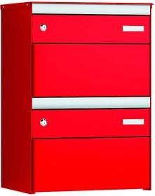 2x s:box 13 rouge feu/ rouge feu Boîtes aux lettre Stebler 604031900000 Couleur Rouge feu Photo no. 1