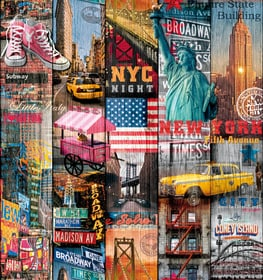Pellicola adesiva Manhattan 45 x 200cm D-C-Fix 661868500000 N. figura 1