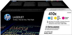 Toner 410X Tri-Pack (CF252XM) Cartouche de toner HP 798554900000 Photo no. 1