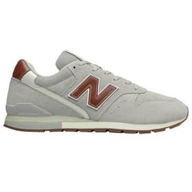 996 Chaussures de loisirs pour homme New Balance 465434740581 Taille 40.5 Couleur gris claire Photo no. 1
