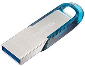 Ultra USB 3.0 Flair 64GB blau USB 3.0 SanDisk 798235900000 Bild Nr. 1