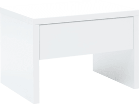 GRIP Table de chevet HASENA 404576585010 Couleur Blanc Dimensions L: 50.0 cm x P: 36.0 cm x H: 34.0 cm Photo no. 1