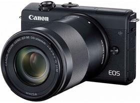 Canon EOS M200 + 15-45 + 55-200 noir Kit appareil photo hybride 785300147487 Photo no. 1