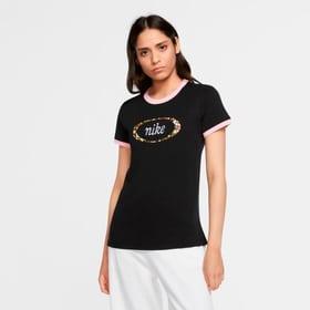 W Nsw Tee Femme Ringer T-shirt pour femme Nike 464258200320 Taille S Couleur noir Photo no. 1