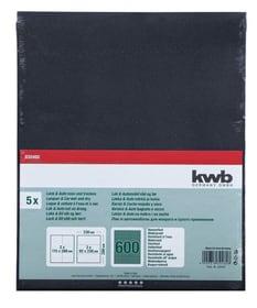 Papier à l'eau GR. 600, 5 pcs. kwb 610553800000 Photo no. 1