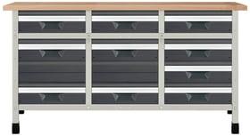 Banco da lavoro No. 2 1610 x 650 x 860 mm 8076