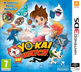 3DS - YOKAI WATCH (Special Editinkl. Medaille) Box 785300121381 Photo no. 1