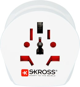 Combo Travel Adapter South Africa + Europe Adaptateur De Voyage Skross 785300138544 Photo no. 1