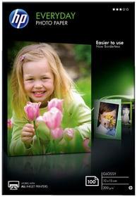 Papier photo brillant Everyday - 100 feuilles, 10 x 15 mm Papier photographique HP 797980200000 Photo no. 1