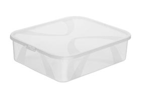 Arco Box 12L Rotho 603630100000 Taglio L: 41.7 cm x L: 35.1 cm x A: 11.2 cm Colore Transparente N. figura 1