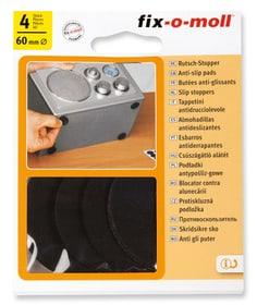 Tappetini 2.5 mm / Ø 60 mm 4 x Fix-O-Moll 607083000000 N. figura 1