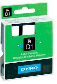 Schriftband D1 schwarz/transparent 6mm/7m Schriftband Dymo 798276600000 Bild Nr. 1