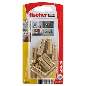 Tassello in ottone PA M8 fischer 605445500000 N. figura 1